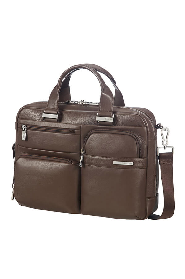Сумка для ноутбука Samsonite Sunstone Bailhandle 14,1″ CG2-03004 03 Brown - фото №1