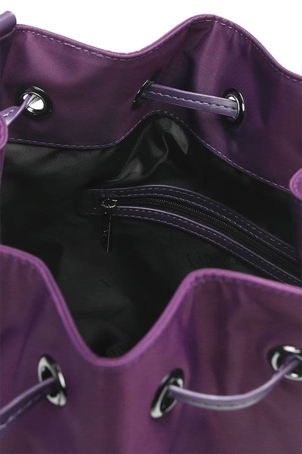 Женская сумка Lipault P51*026 Lady Plume Bucket Bag S P51-24026 24 Purple - фото №2