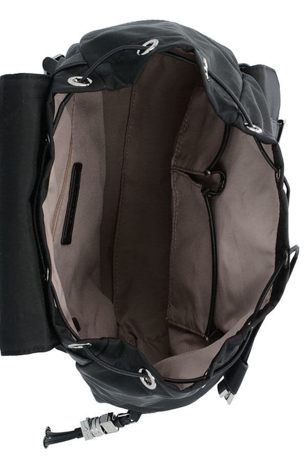 Женский рюкзак Samsonite 34N*008 Karissa Backpack 2 Pockets 34N-09008 09 Black - фото №2