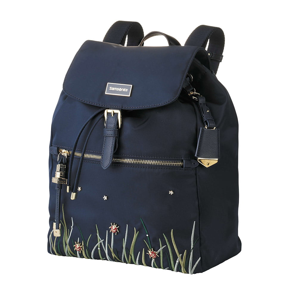 Женский рюкзак Samsonite 34N*509 Karissa Backpack 1 Pocket 34N-11509 11 Dark Navy/Ladybug - фото №1