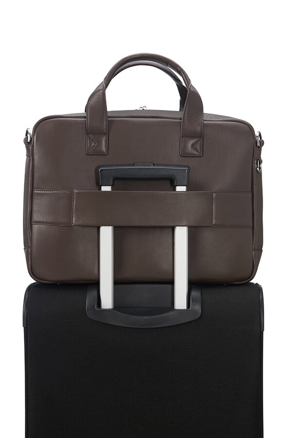 Сумка для ноутбука Samsonite Sunstone Bailhandle 14,1″ CG2-03004 03 Brown - фото №6