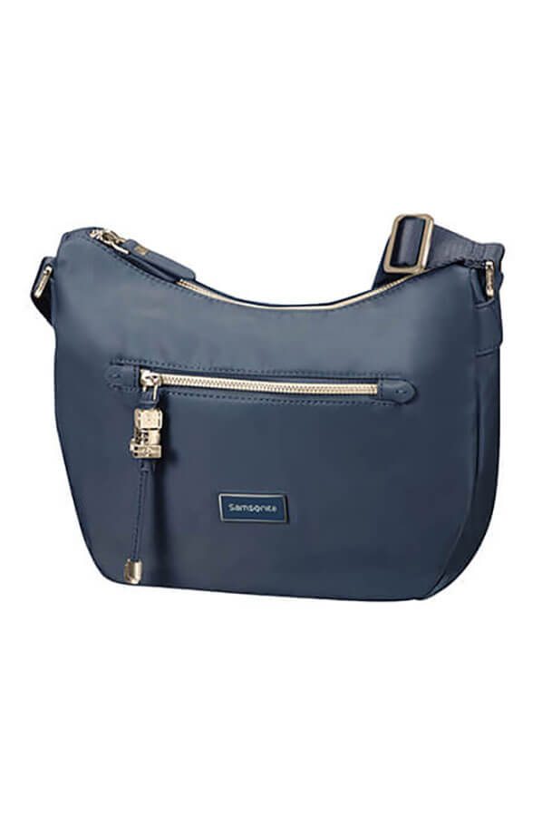 Женская сумка Samsonite 34N*016 Karissa Hobo Bag S 34N-41016 41 Dark Navy - фото №1