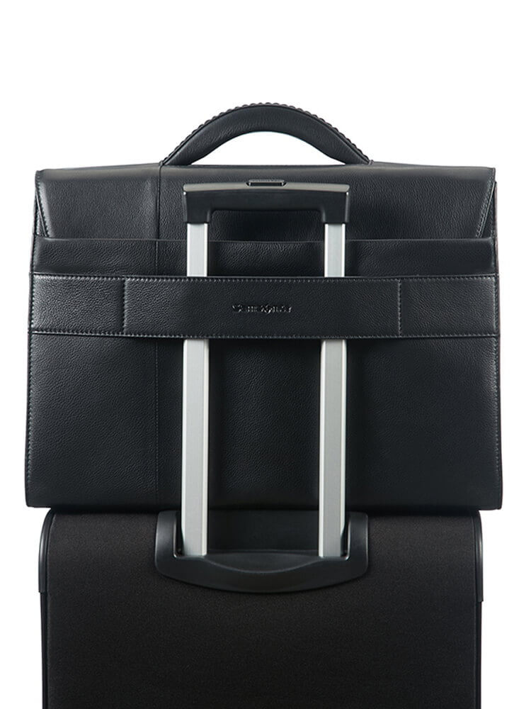Кожаный портфель Samsonite Formalite Lth Briefcase 15.6″ 61N-09006 09 Black - фото №3