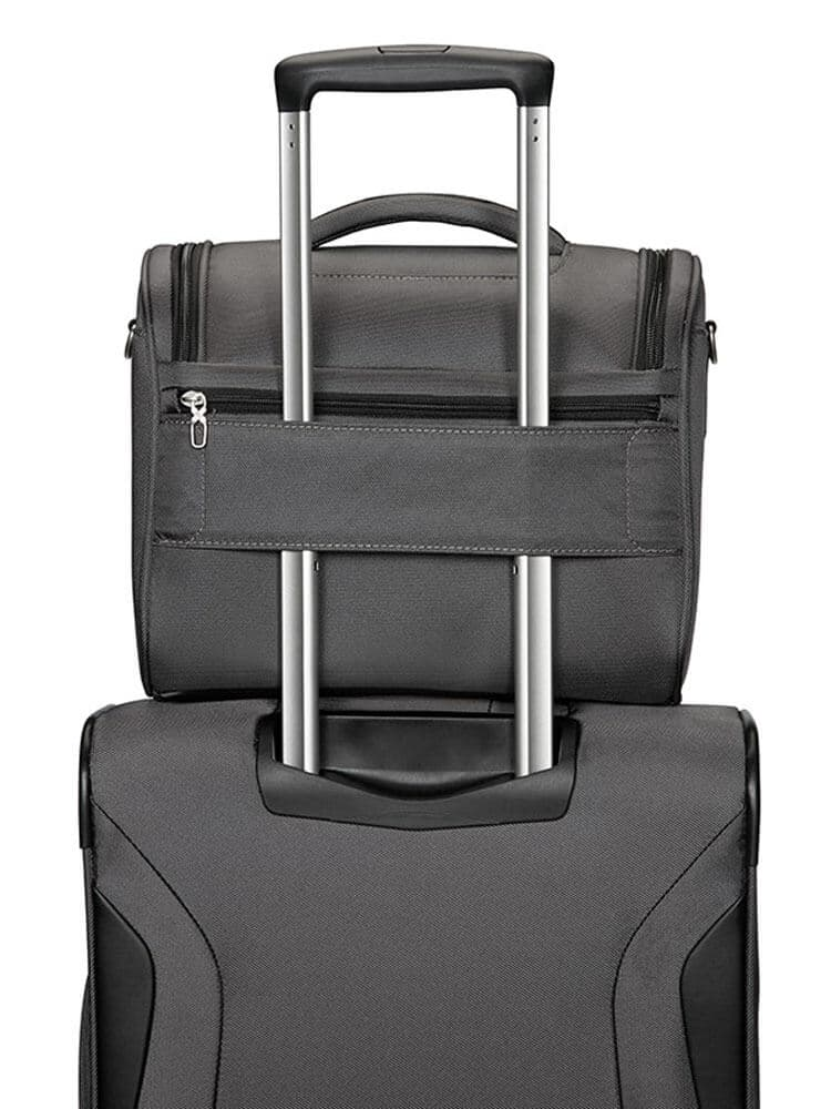Бьюти-кейс Samsonite 04N*017 X'Blade 3.0 Beauty Case 04N-18017 08 Grey/Black - фото №3