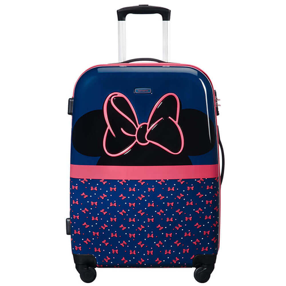 Детский чемодан Samsonite 40C*011 Disney Ultimate 2.0 Spinner 65 см Minnie Neon 40C-01011 01 Minnie Neon - фото №5
