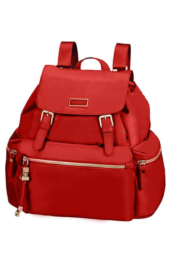 Женский рюкзак Samsonite 34N*014 Karissa Backpack 3 Pocket 2 Buckle 34N-40014 40 Formula Red - фото №1