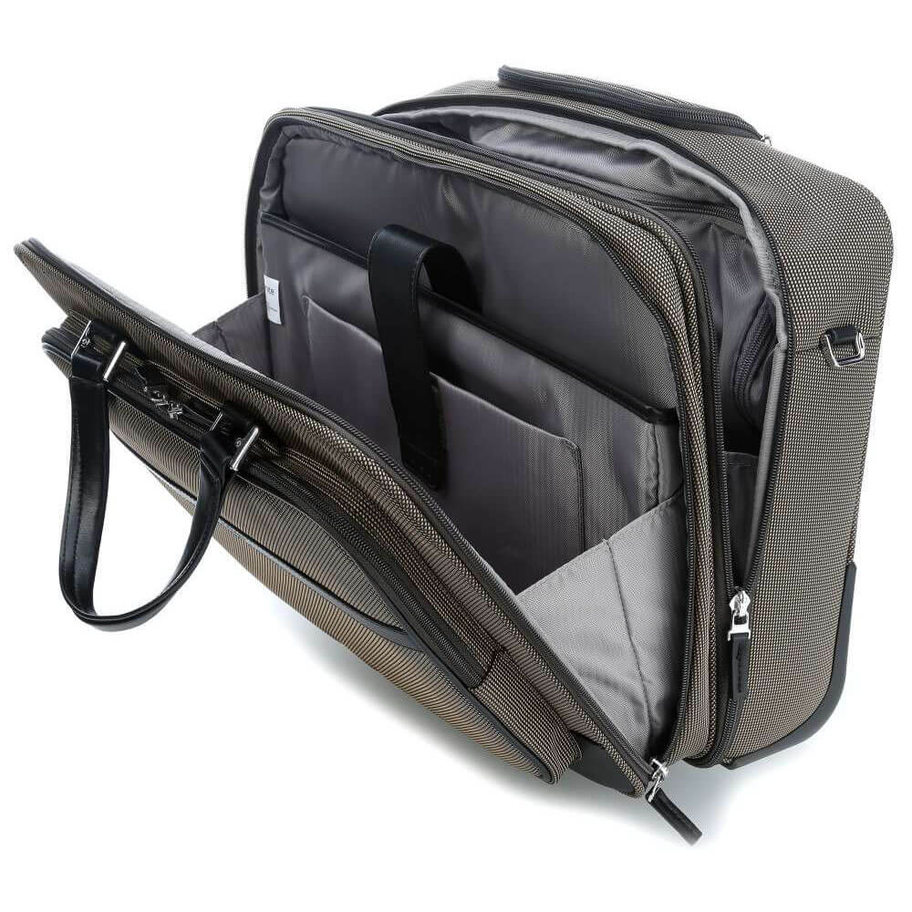 Кейс на колёсах Samsonite Fairbrook Rolling Laptop Bag 15,6″ 54N-25005 25 Bronze/Black - фото №2