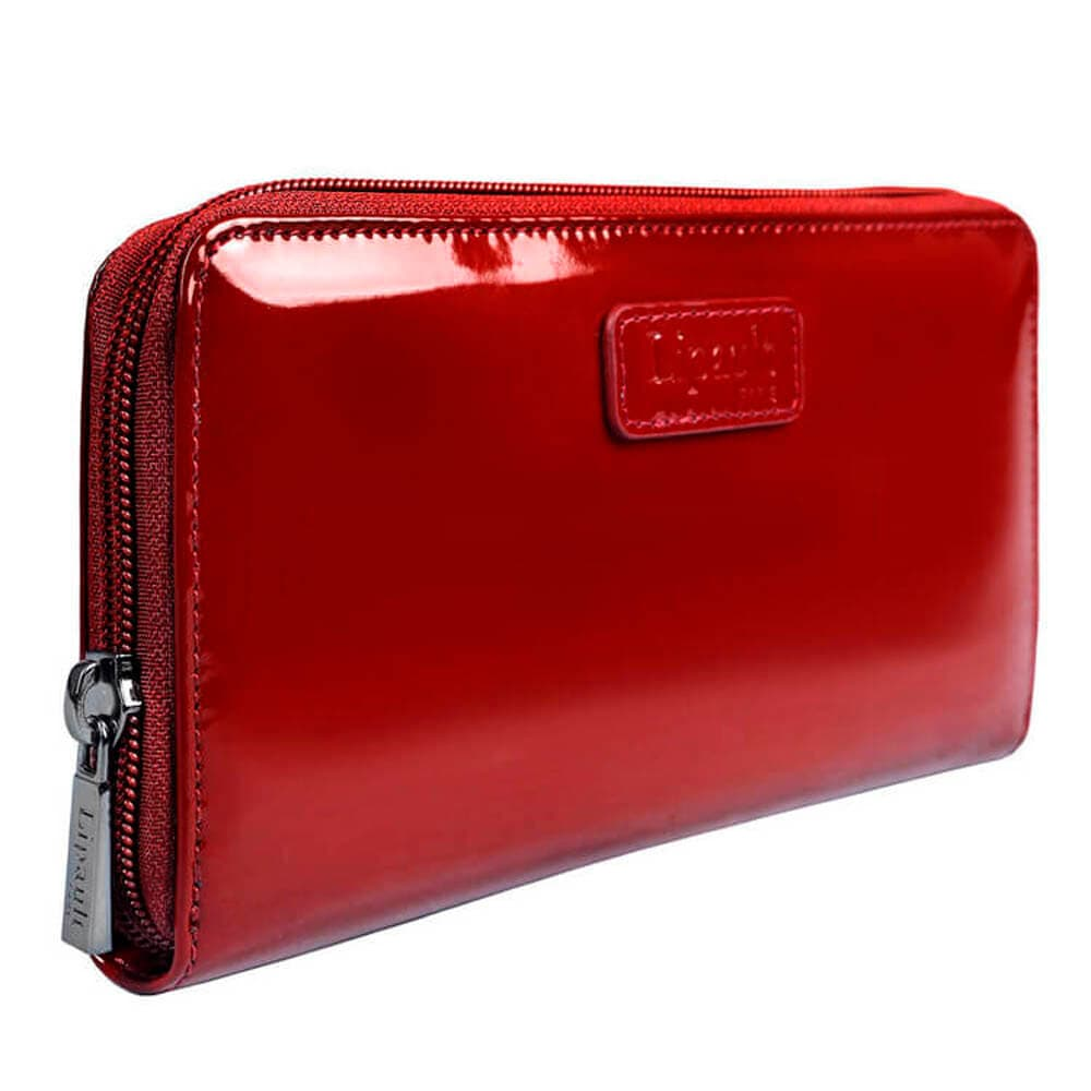 Женское портмоне Lipault P57*027 Plume Vinyl Zip Around Wallet P57-05027 05 Ruby - фото №2