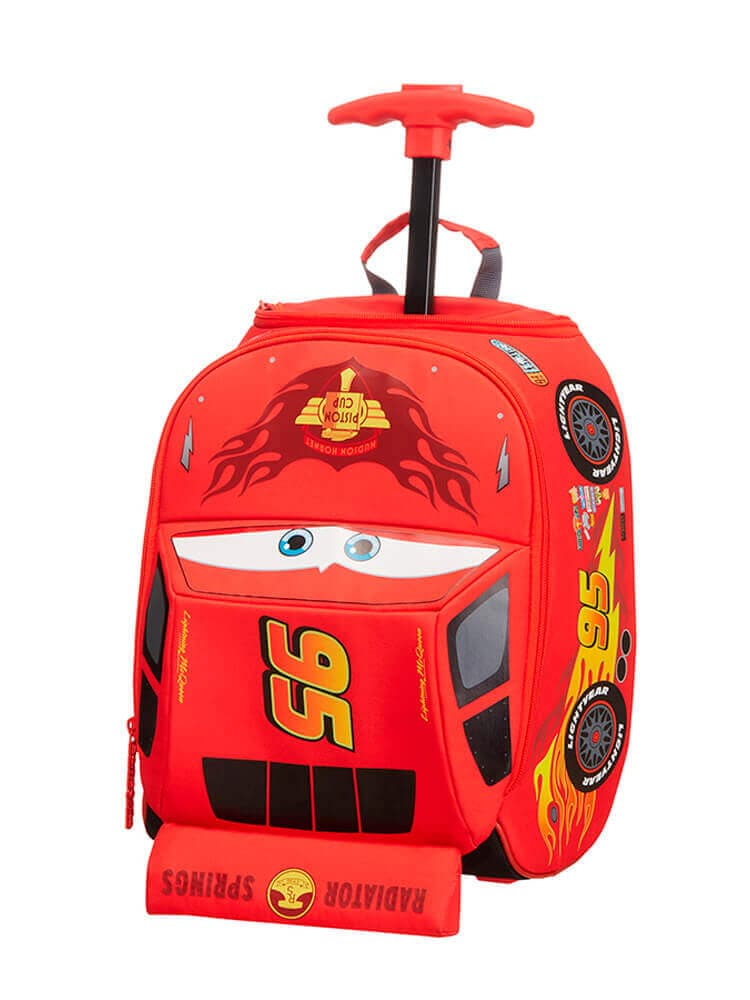 Детская сумка на колёсах Samsonite 23C*012 Disney Ultimate School Trolley 23C-00012  00 Cars Classic - фото №1