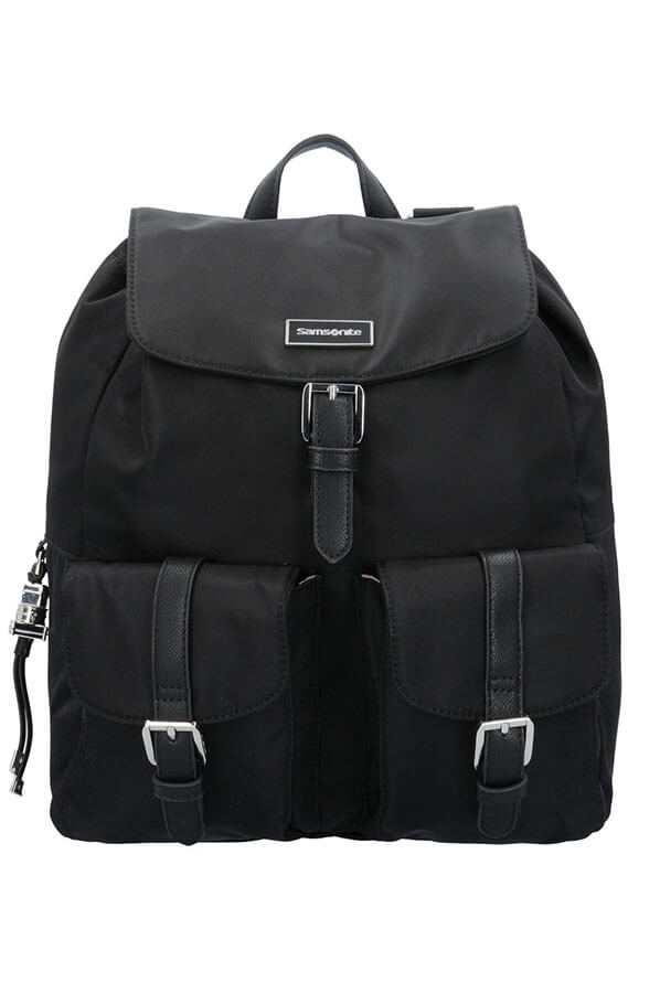 Женский рюкзак Samsonite 34N*008 Karissa Backpack 2 Pockets 34N-09008 09 Black - фото №1