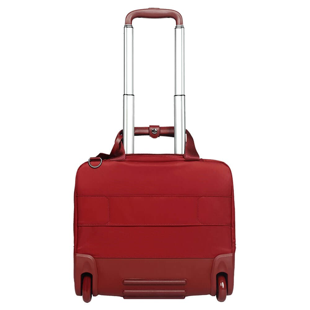 Кейс-пилот Lipault P55*107 Plume Business Case 2 Wheels 15″ P55-63107 63 Cherry Red - фото №5