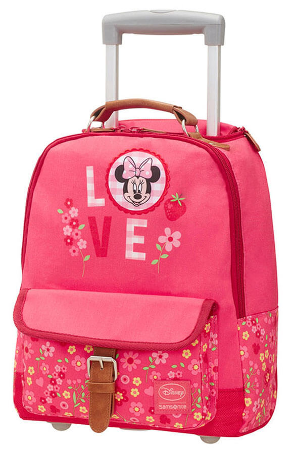 Детская сумка на колесах Samsonite 28C-90003 Disney Stylies Trolley 35,5 см 28C-90003 90 Minnie Blossoms - фото №1