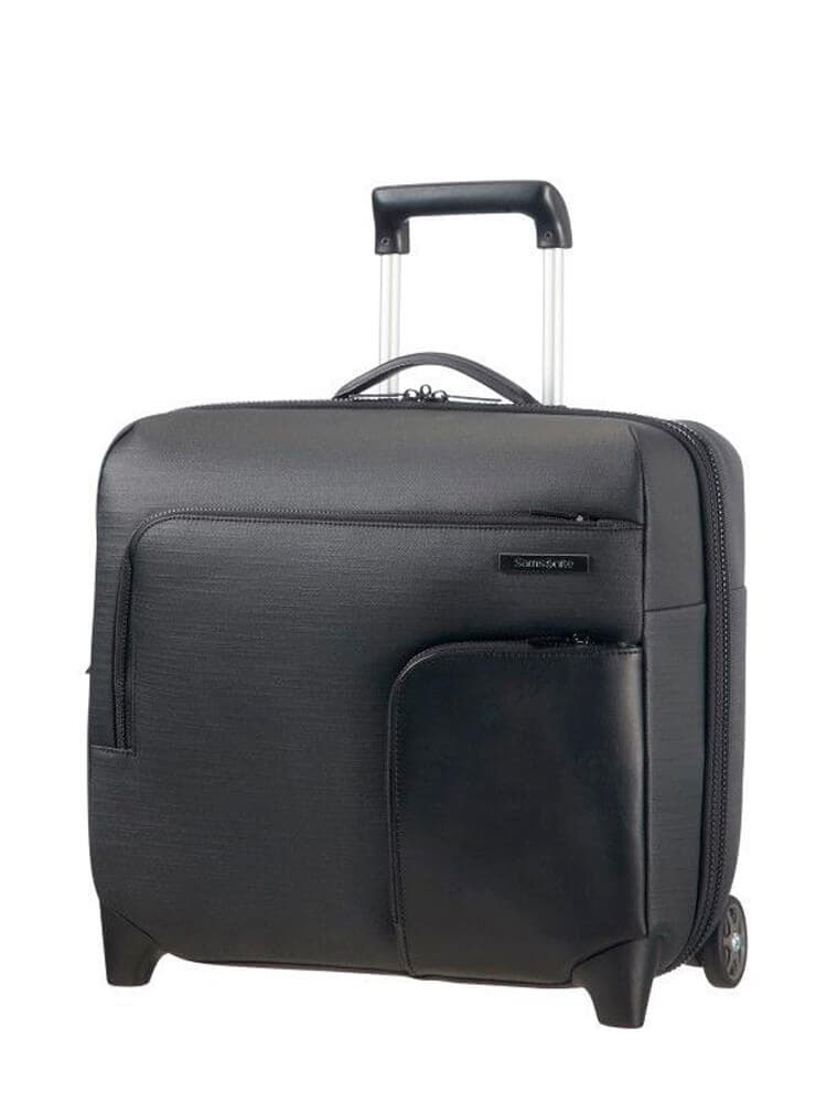 Кейс на колёсах Samsonite Memphis Rolling Laptop Bag 16″ 55N-09005 09 Black - фото №1