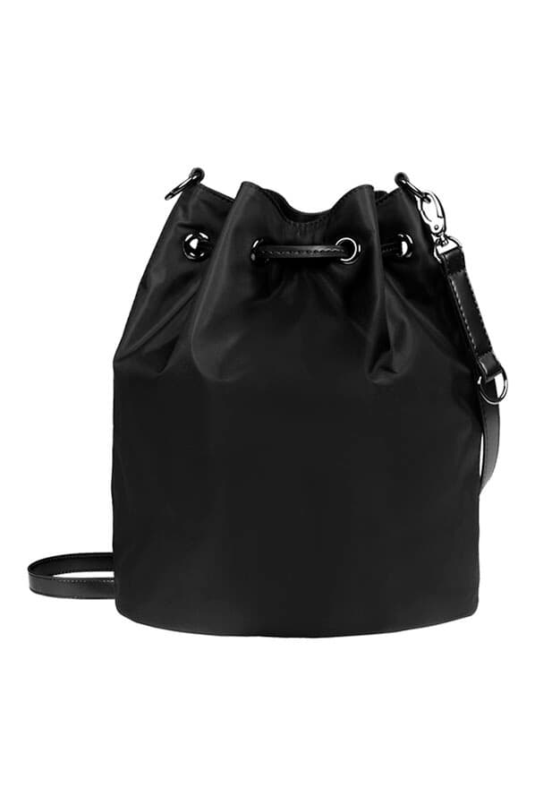 Женская сумка Lipault P51*026 Lady Plume Bucket Bag S P51-01026 01 Black - фото №3