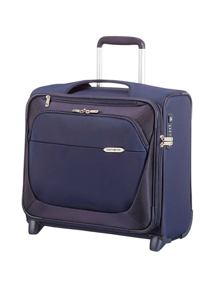Кейс-пилот на колёсах Samsonite 39V*010 B-Lite 3 Rolling Laptop Bag 17.3″ 39D-11010 11 Dark Blue - фото №1