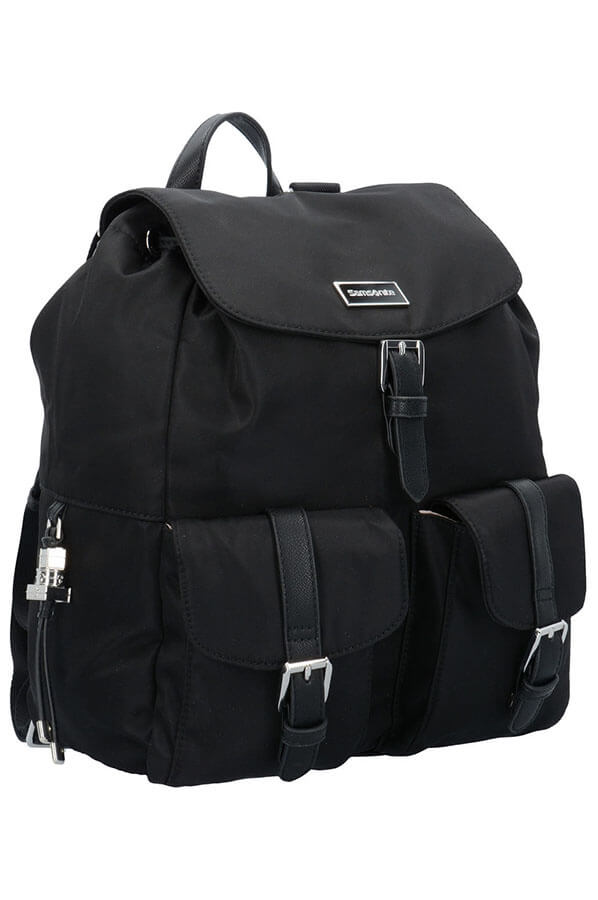 Женский рюкзак Samsonite 34N*008 Karissa Backpack 2 Pockets 34N-09008 09 Black - фото №3