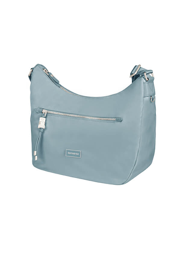 Женская сумка Samsonite 34N*016 Karissa Hobo Bag S 34N-21016 21 Dusty Blue - фото №1