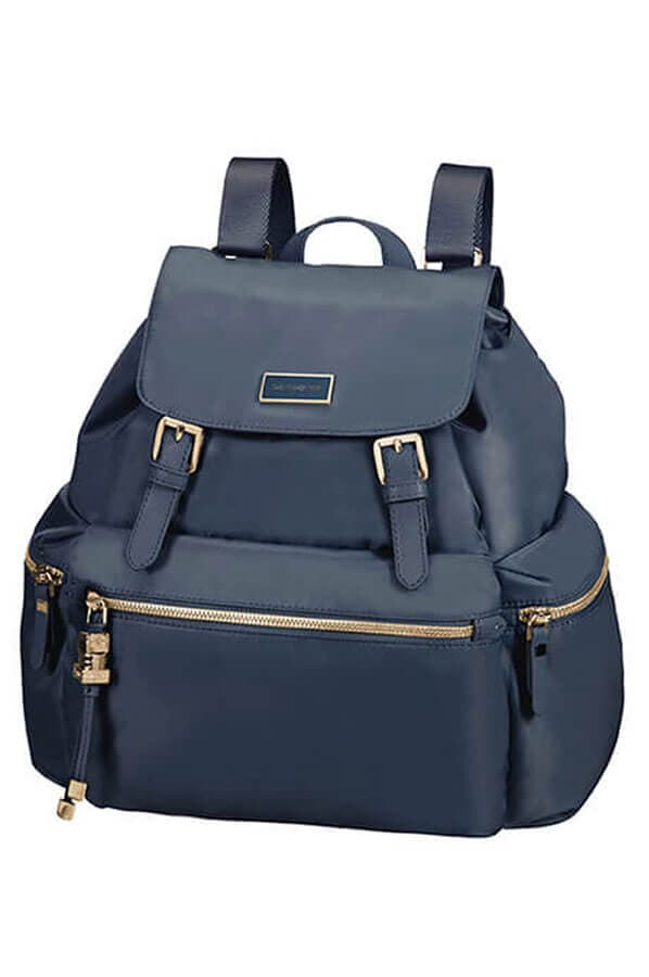 Женский рюкзак Samsonite 34N*014 Karissa Backpack 3 Pocket 2 Buckle 34N-41014 41 Dark Navy - фото №1