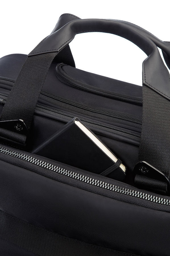 Кейс-пилот на колёсах Samsonite 42V*008 Cityvibe Rolling Laptop Bag 16″ 42V-09008 09 Jet Black - фото №3