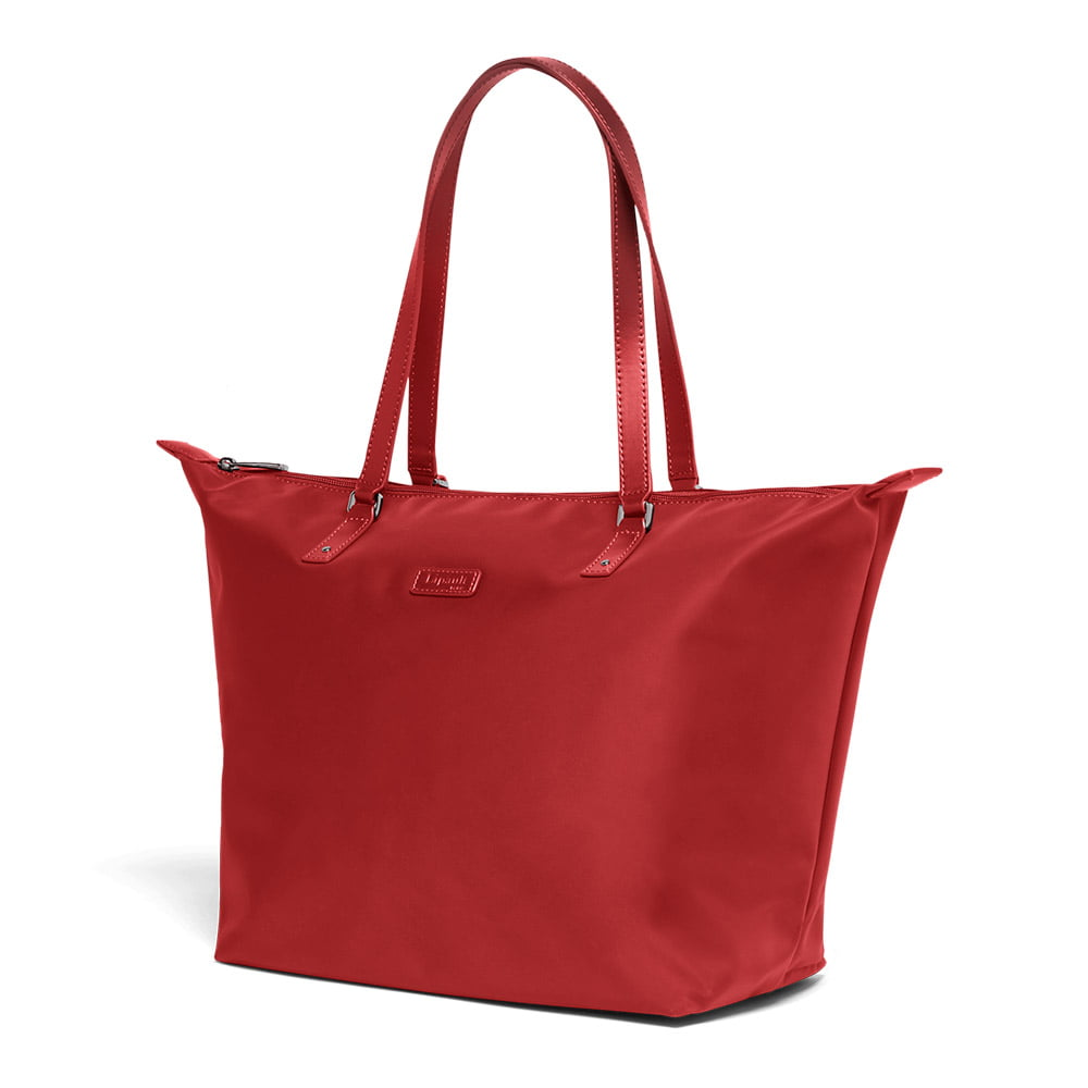 Женская сумка Lipault Lady Plume Tote Bag M FL P51-63112 63 Cherry Red - фото №3