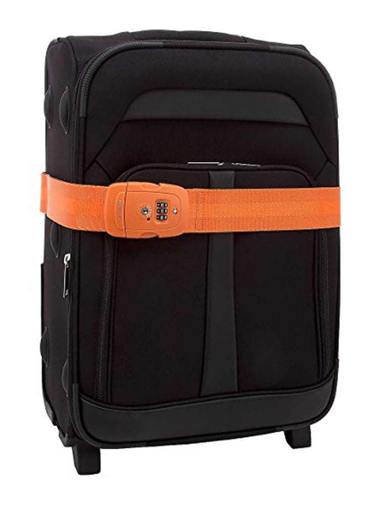 Багажный ремень Samsonite Safe US 3 Combi Luggage Strap 2 TSA