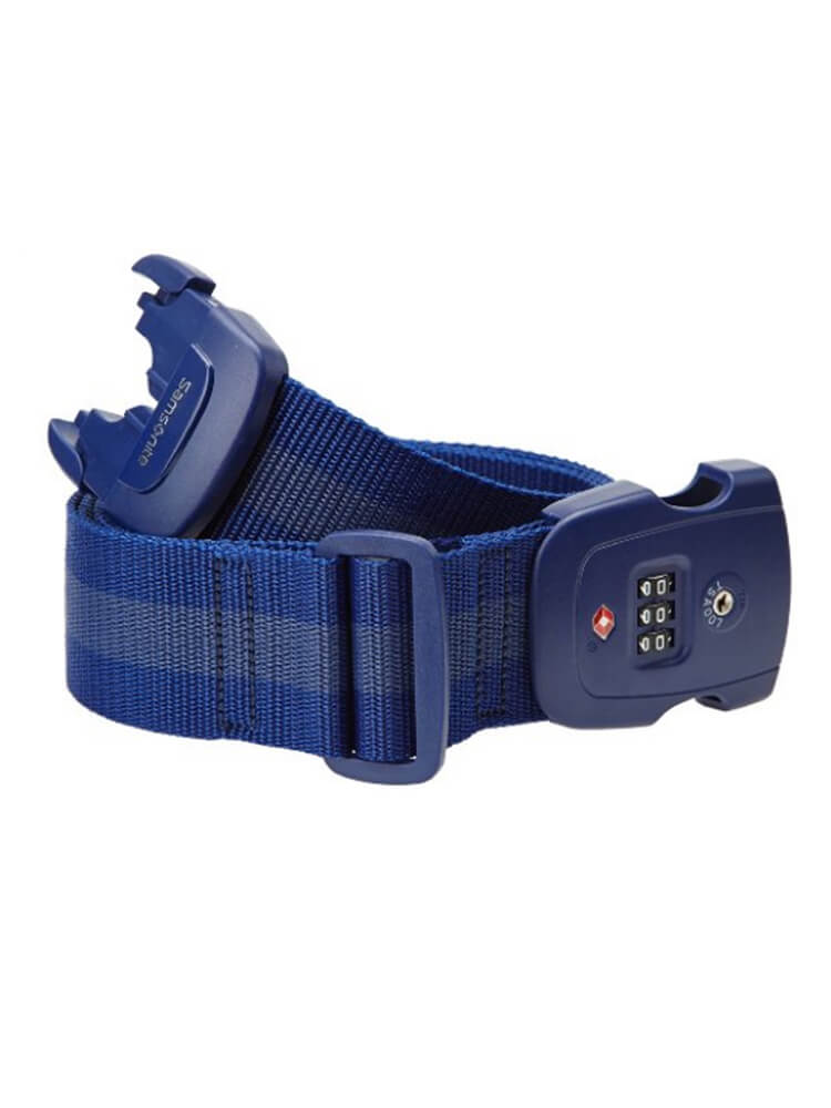 Багажный ремень Samsonite Safe US 3 Combi Luggage Strap 2 TSA U23-11009 11 Indigo Blue - фото №1