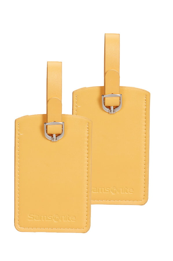 Бирки для багажа Samsonite Rectangle Luggage Tag X2 CO1-06051 06 Sunflower - фото №1