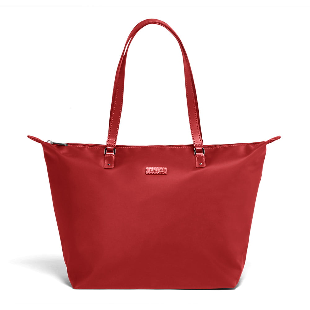 Женская сумка Lipault Lady Plume Tote Bag M FL P51-63112 63 Cherry Red - фото №1