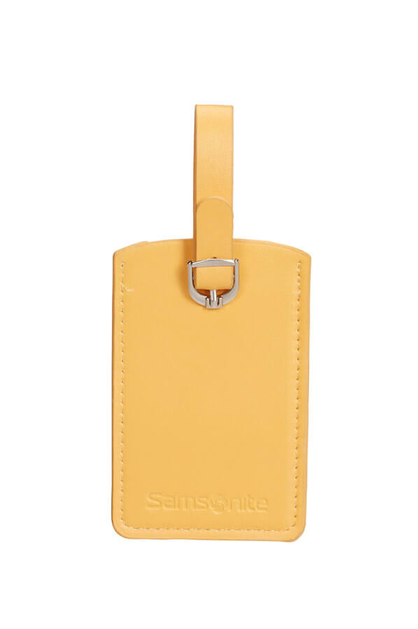 Бирки для багажа Samsonite Rectangle Luggage Tag X2 CO1-06051 06 Sunflower - фото №3